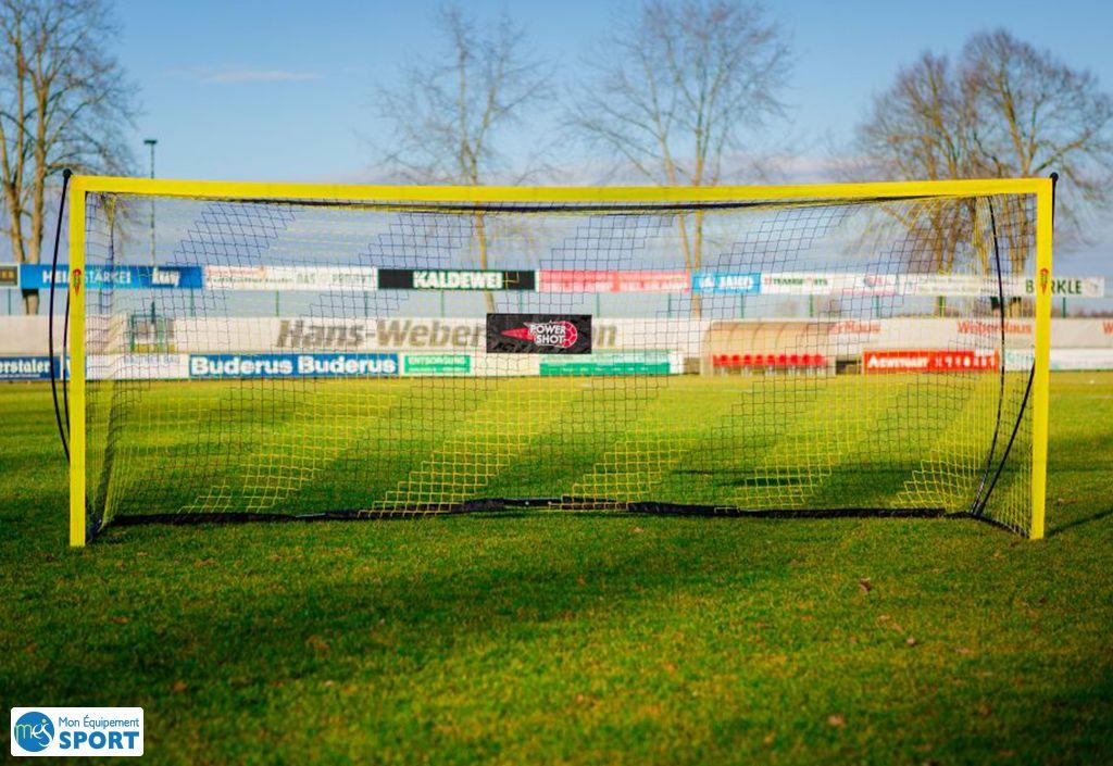 buts foot football Powershot 4 x 1,5 m filet de rebond