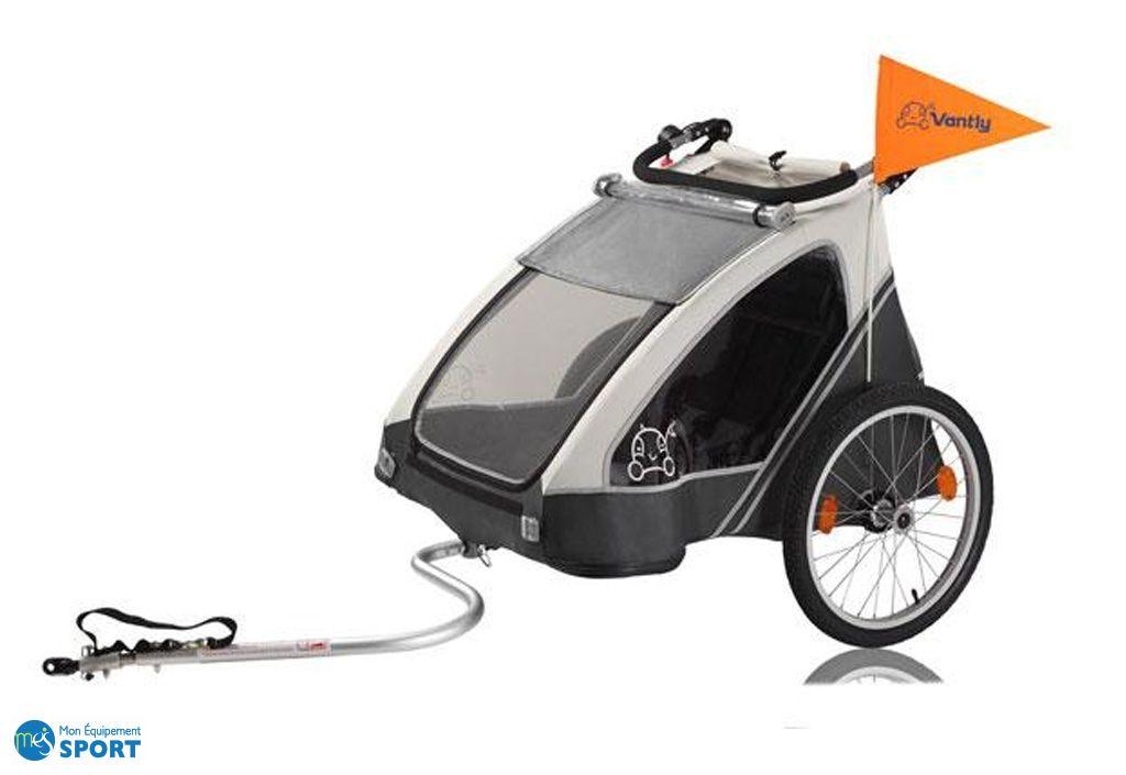 Chariot pour enfant transformable en buggy luxe