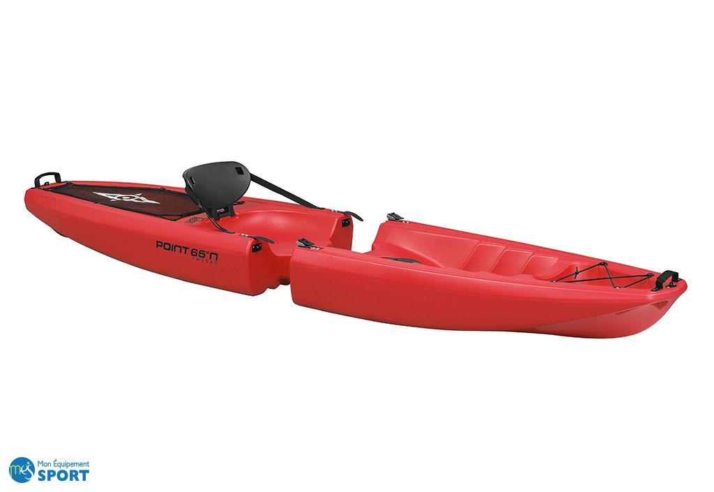 kayak modulable Falcon Solo rouge