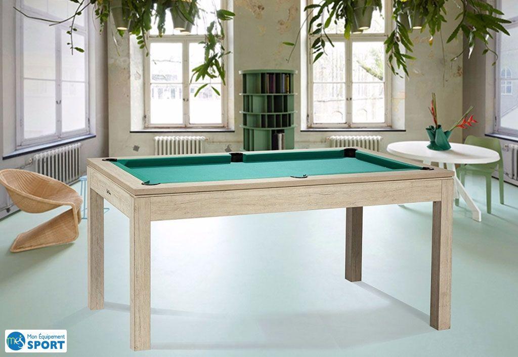 18ad3c9227479 Billard Loft de René Pierre convertible en table avec drap vert ...