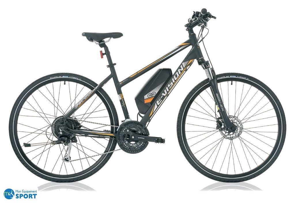 "E-bike Liberon 28"" cadre 48cm pour femme"