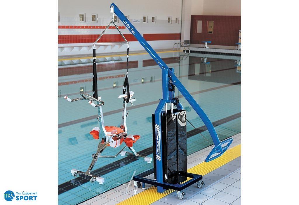 aquabike lift waterflex mât de levage universel aquagym