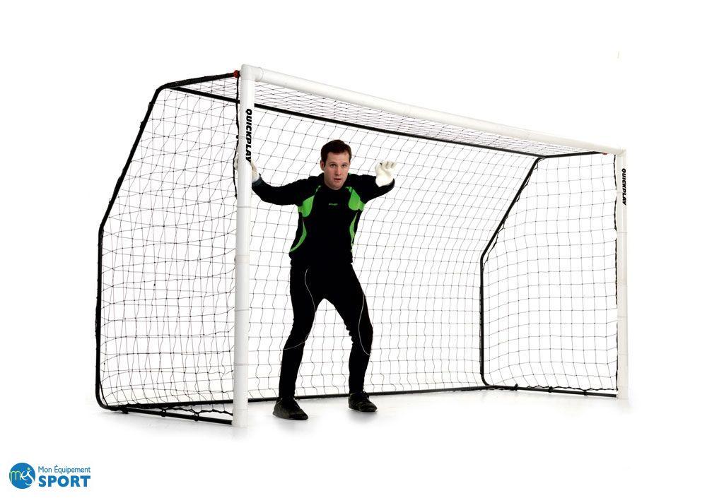 But de foot Match Fold 12'x6' cadre en upvc renforcé