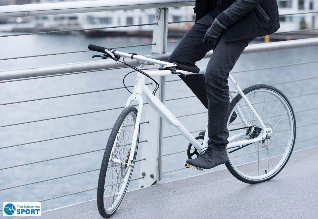Vélo Urbain NYC Shimano Alfine 8 Vitesses 26 Pouces