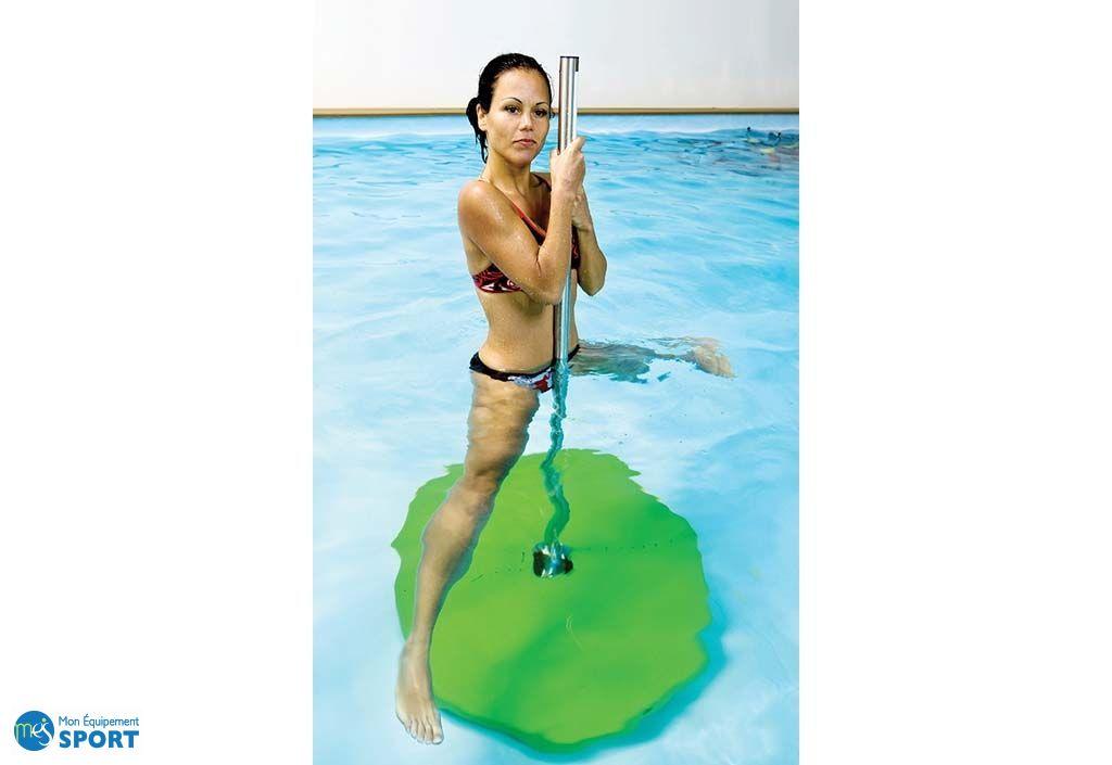 poolbar de piscine pour fitness verte