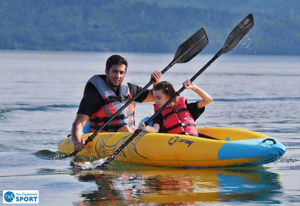 Kayak gonflable Tahiti Zray 2 personnes