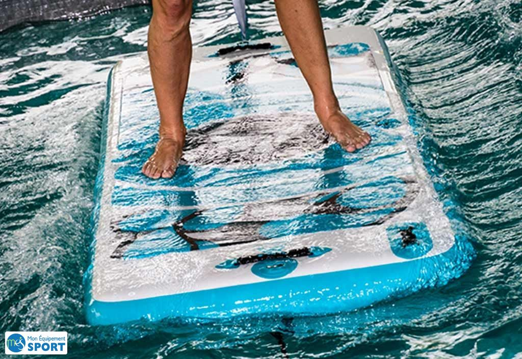 tapis flottant aquafitmat pvc double stitch
