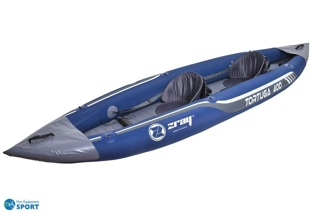 kayak gonflable tortuga 2 places 395x90 cm zray. Black Bedroom Furniture Sets. Home Design Ideas