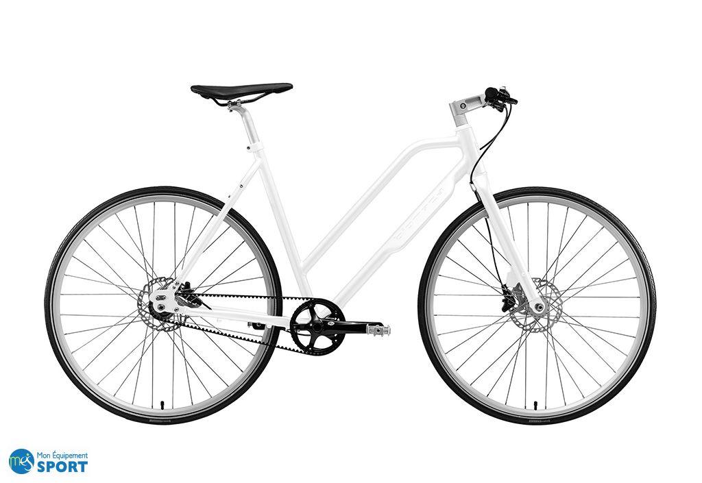 Vélo Urbain NYC Lady 28 pouces 7 Vitesses Nexus BLANC