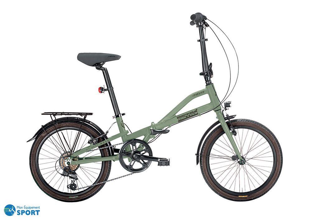 Vélo pliable metro Vert - MBM