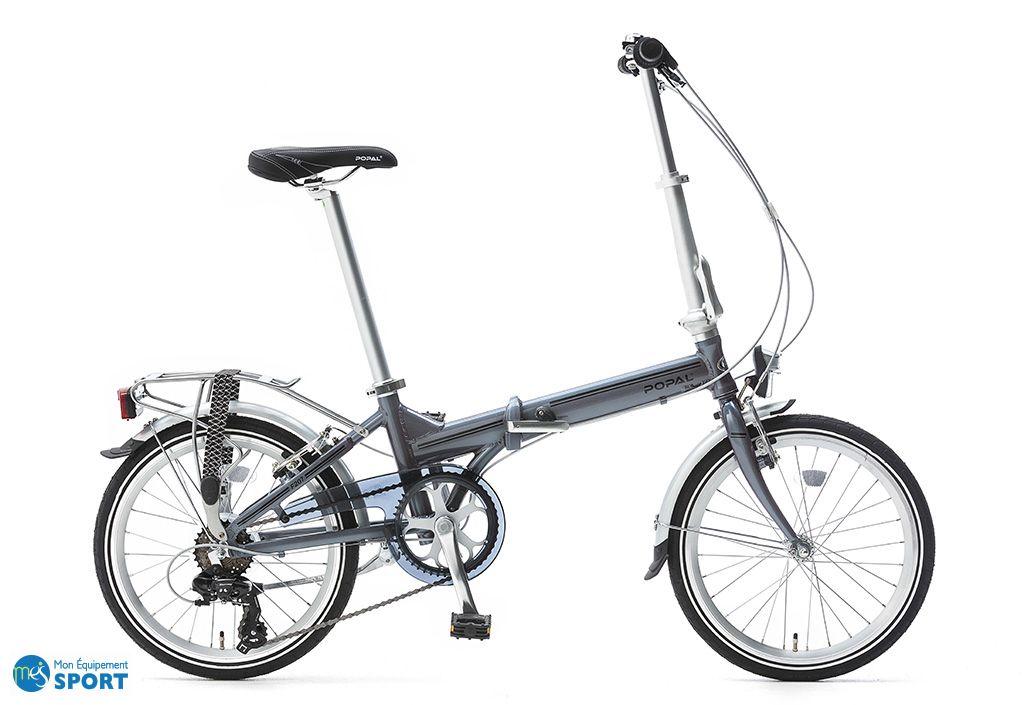 Vélo pliant Popal Reload F207 - Gris