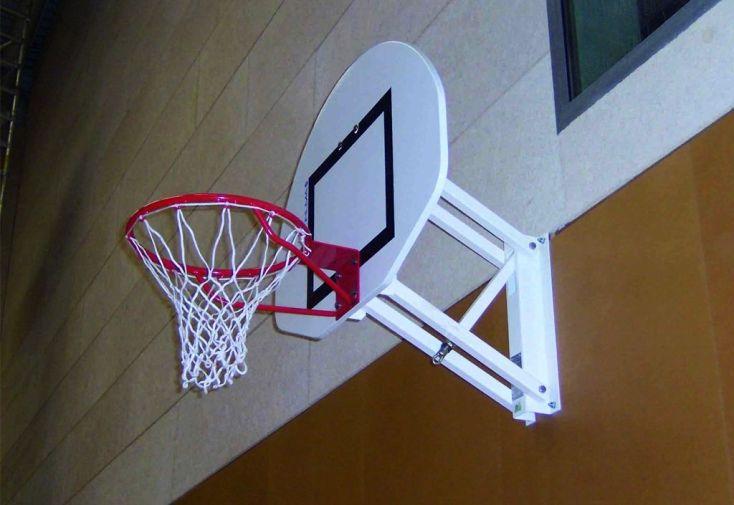 But de Basket Mural Réglable 2.60 à 3.05 m