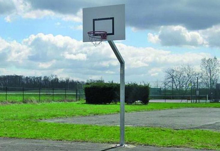 But de Basket sur Platine 2,60m de Hauteur, 1,20m Déport