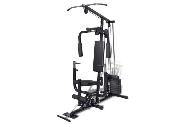 Station de Musculation Avec Banc 150x99x204 cm
