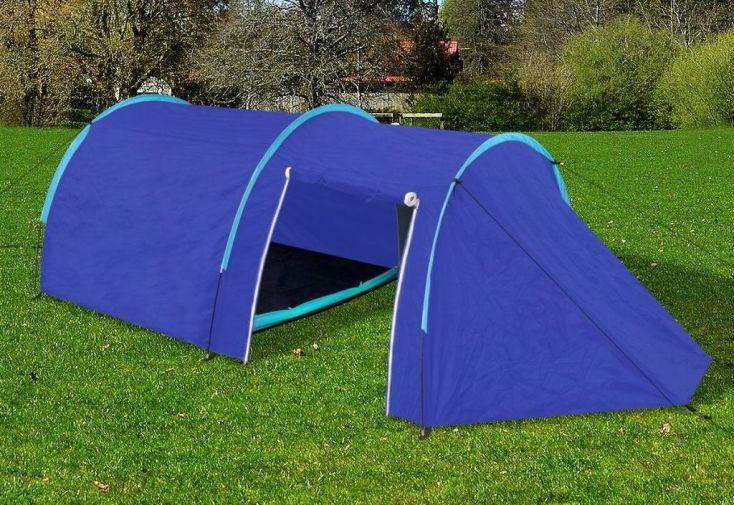 Tente de Camping 4 Personnes 395x180x110 cm