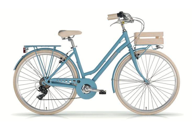 Vélo Apostrophe 28 Pouces pour Femme Bleu