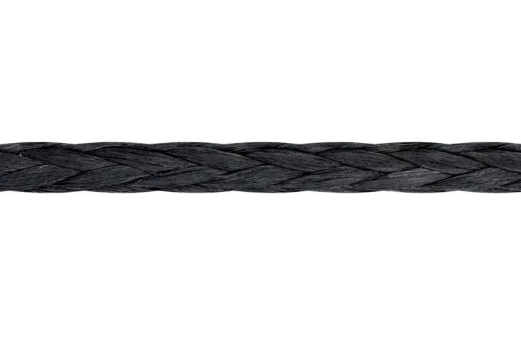 Cordage Remorquage Véhicule D-Pro Noir (Ø 6 à 16 mm) - A partir de 5 m