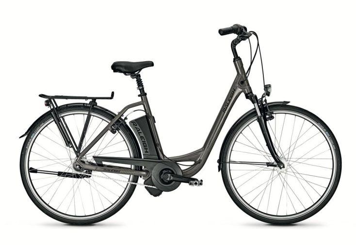 """Vélo de ville électrique Raleigh Impulse pour Femme 28""""  gris mate"""