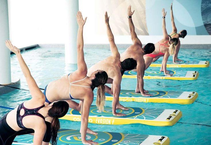 Tapis flottant Aquafitmat Coasto pour fitness aquatique