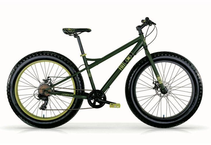 Fat machine 26 pouces vert