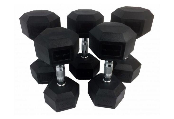 Pack de 5 paires d'haltère d'un poids de 160 Kg