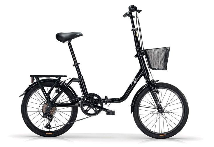 Vélo pliant kangaroo 20 pouces noir