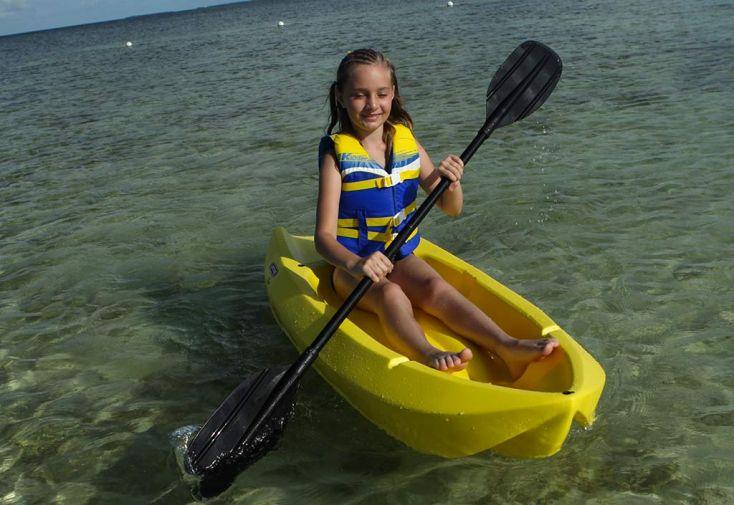 Kayak Enfant Wave en Polyéthylène Incassable