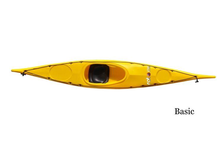 Kayak Roto Buran Basic Jaune