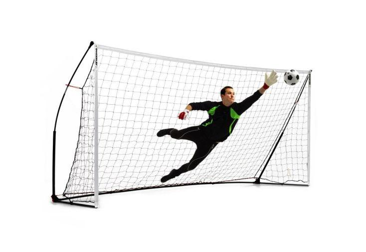 cage de foot portable KICKSTER academy pour adultes 213x488 cm