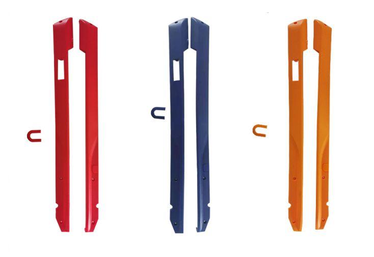 Kit de personalisation pour trottinette électrique Onemile S8 - Rouge Bleu Noir