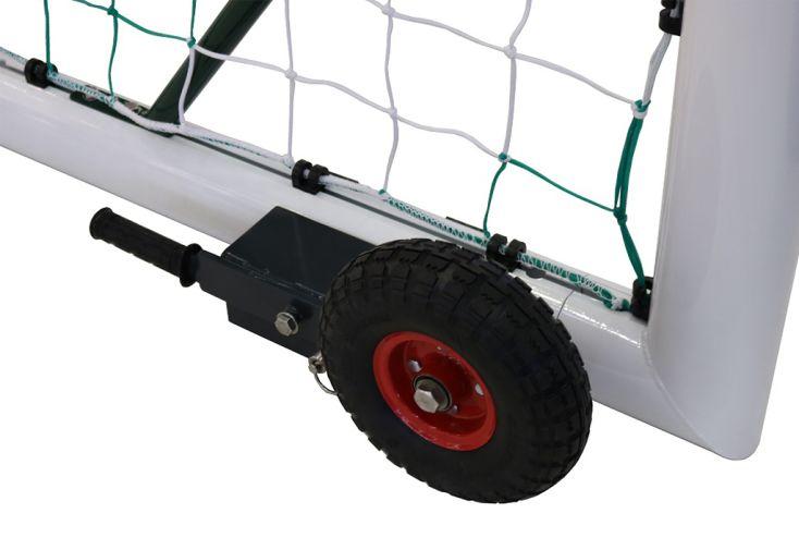Kit roues pour but de foot  transportable 90 mm