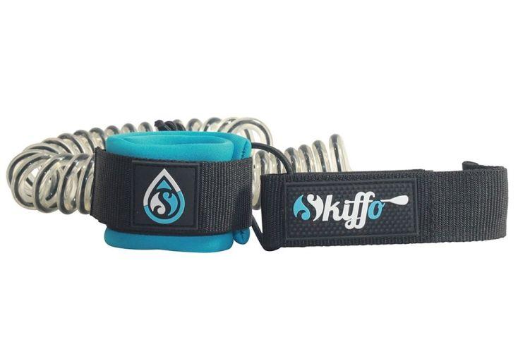 leash skiffo bleu et noir torsadé longueur 3 m et diamètre 8 mm