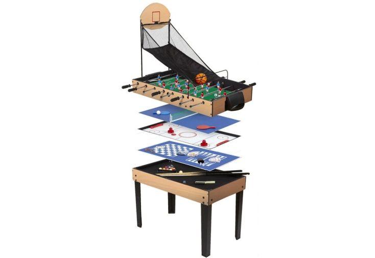 Table multijeux -9 jeux différents