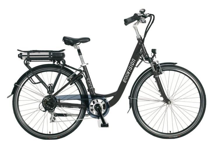 Vélo électrique femme OPus bleu 28 pouces