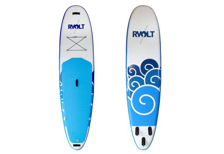 """Planche de SUP RVolt Family 10'6 x 31"""" x 6"""" - Bleu"""