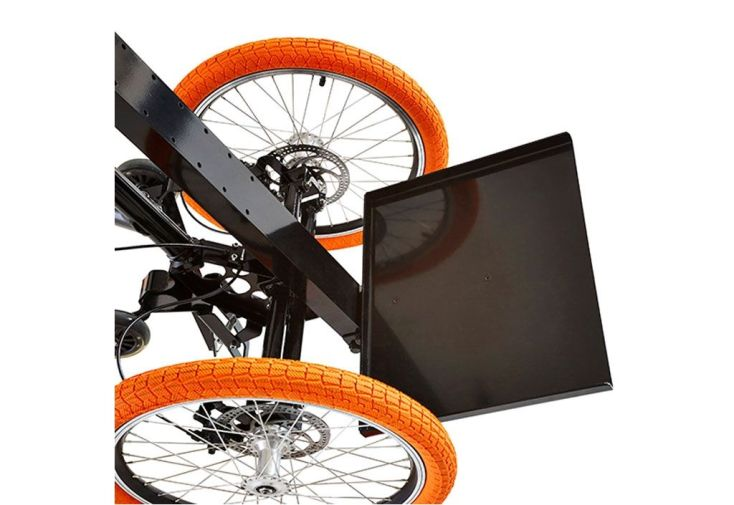 Plaque charge lourde pour tricycle kiffy