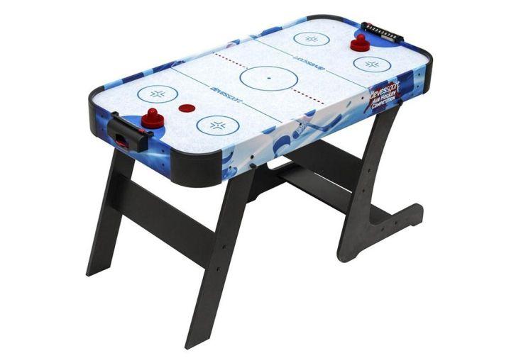 table de air hockey sidney pliable à champ de jeu conditionné par air