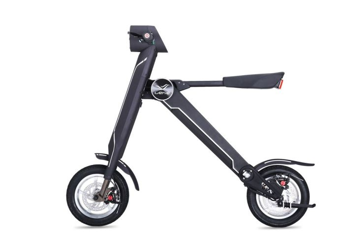 Trottinette Scooter K1 noir électrique
