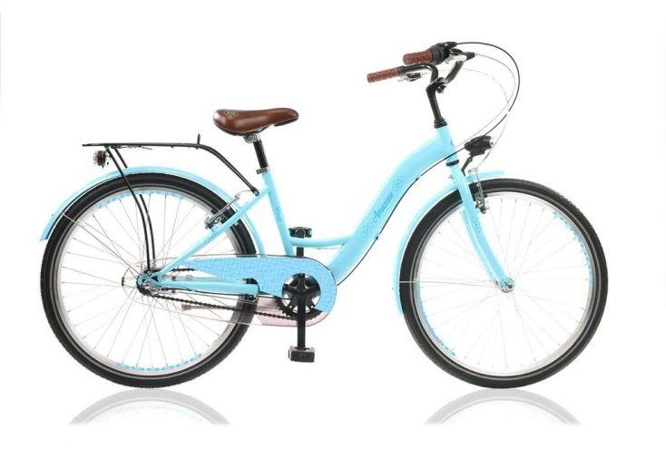 Vélo amazone 20 pouces fille bleu shimano nexus acier