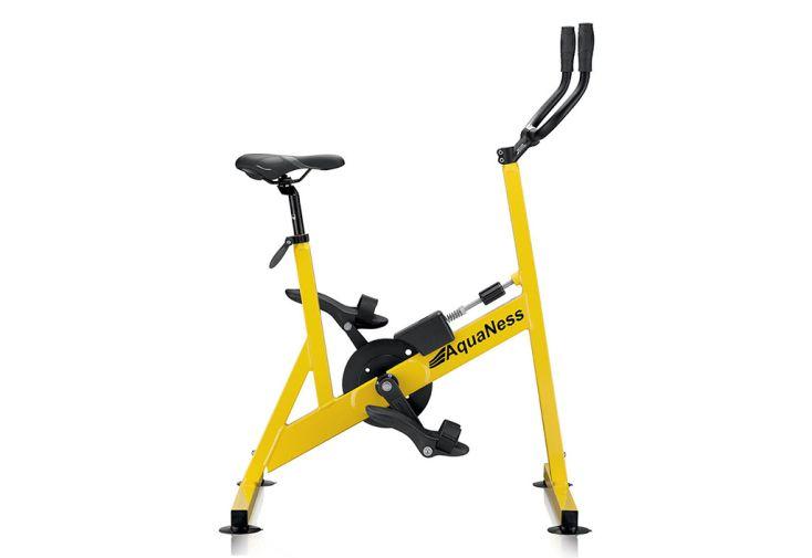 Vélo de Piscine V2 Aquaness jaune
