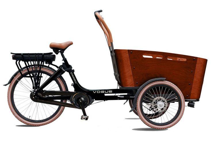 vélo cargo triporteur électrique carry III