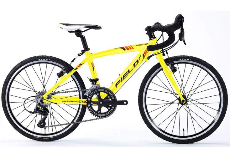 Vélo Cyclo-cross Enfant 24 Pouces Field 14 Vitesses