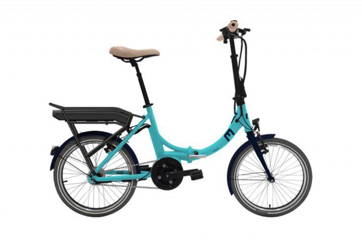 Vélo électrique pliant 20 pouces Moov'In Fold N7 bleu clair