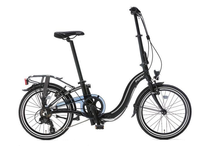 Vélo pliable Subway Popal - Noir