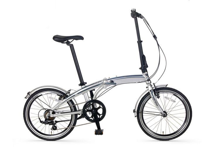 Vélo pliant léger Subway F209 - gris