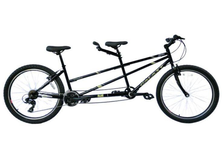 Vélo Tandem Galaxy 26 pouces noir