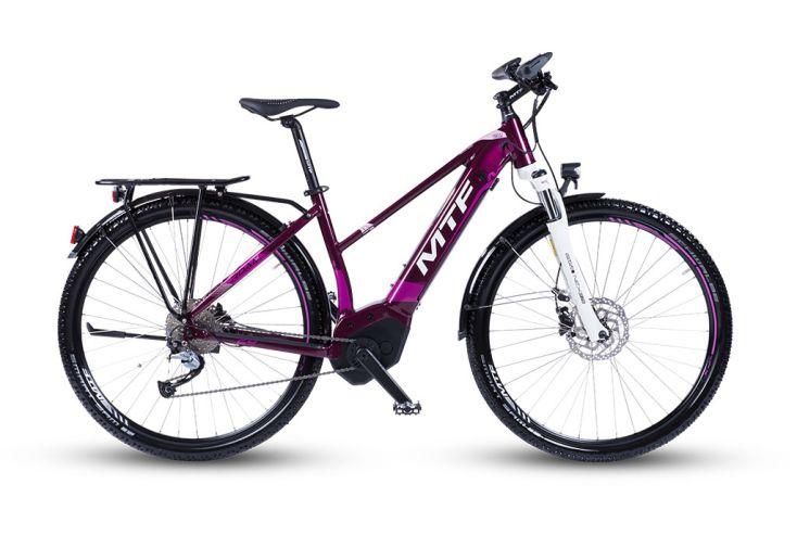 Vélo Tout Chemin Électrique Femme 9 Vitesses Mountfield 250 W 13,4 Ah