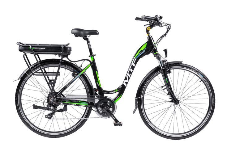 Vélo de ville électrique 28 pouces 7 vitesses Mountfield vélo à assistance électrique