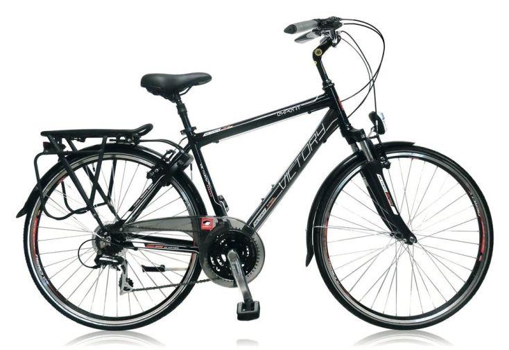 Vélo Victory 28 pouces noir shimano acera homme