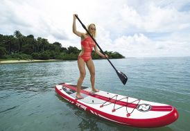 Stand up paddle transformable en kayak gonflable A1 Zray